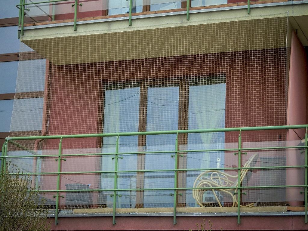 Najgrubsza Siatka Na Balkon Dla Kota Zestaw Montażowy 2x3 M